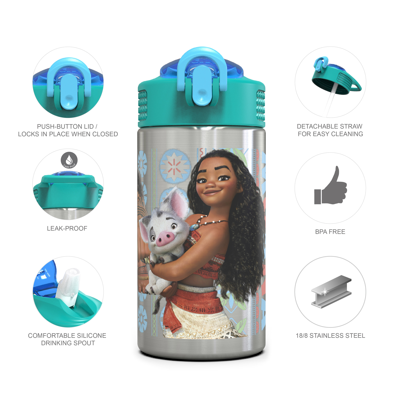 Disney 15.5 ounce Water Bottle, Moana slideshow image 6