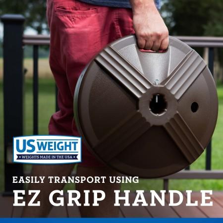 50 lb Umbrella Base - Bronze 6