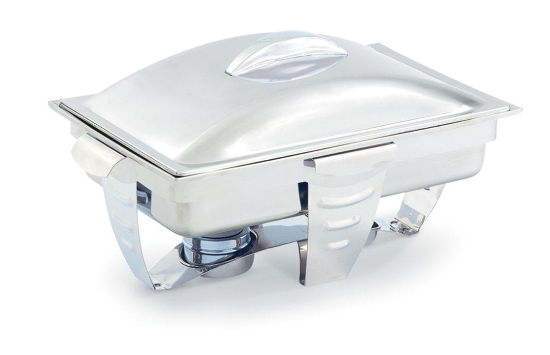 9-quart Maximillian Steel™ rectangular full-size chafer