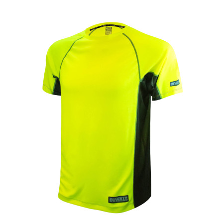 DEWALT Non-Rated Two Tone Performance Short Sleeve T-Shirt