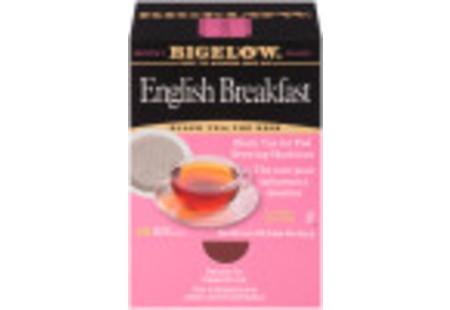 Front facing English Breakfast Tea for Pod Machine tea box