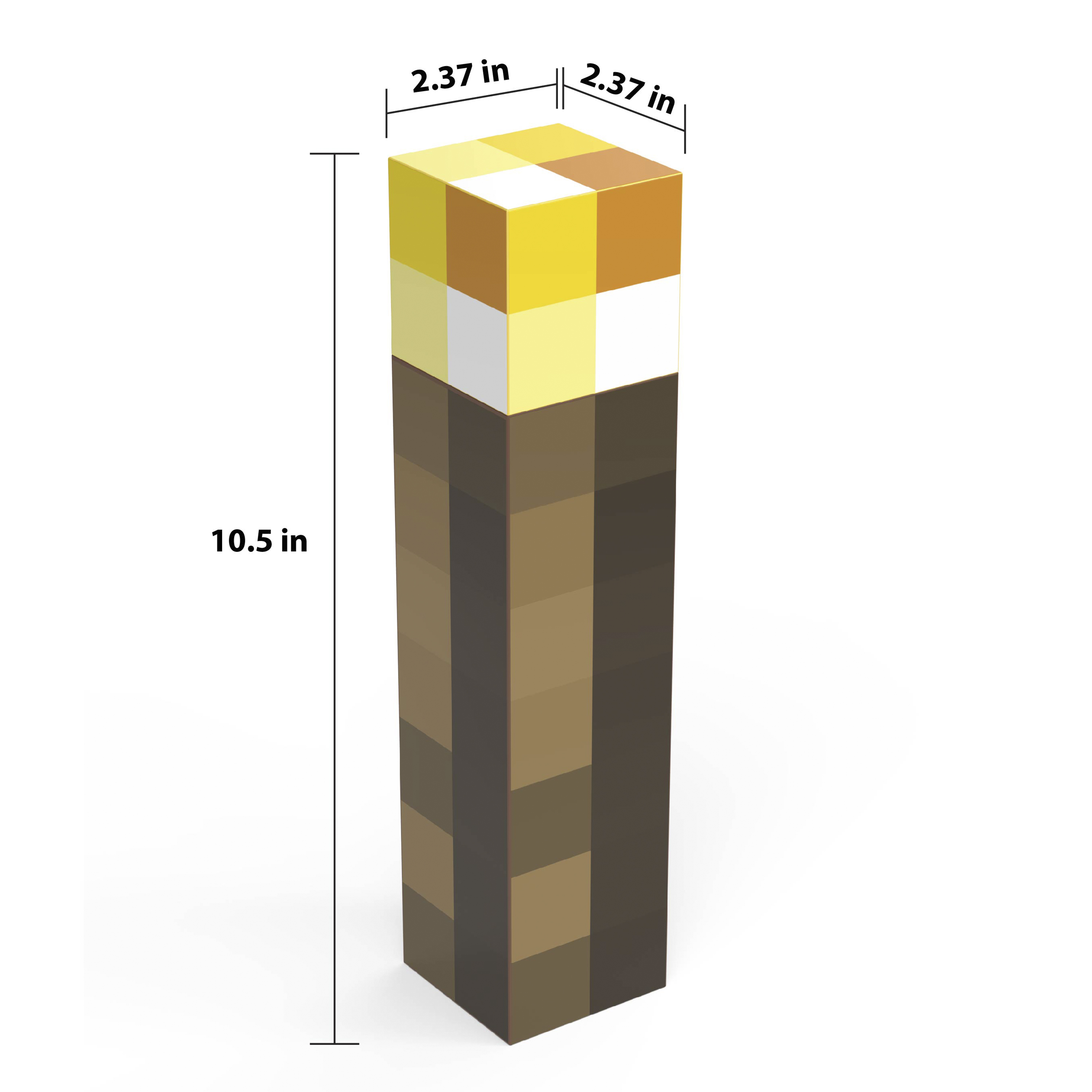 Minecraft 22 ounce BPA Free Water Bottle, Torch slideshow image 7