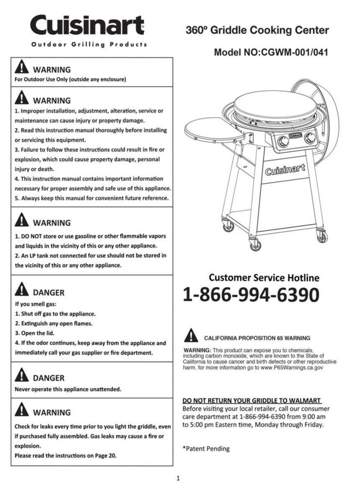 CGWM-001 Griddle Manual-Single   Spread 1-4-19.pdf
