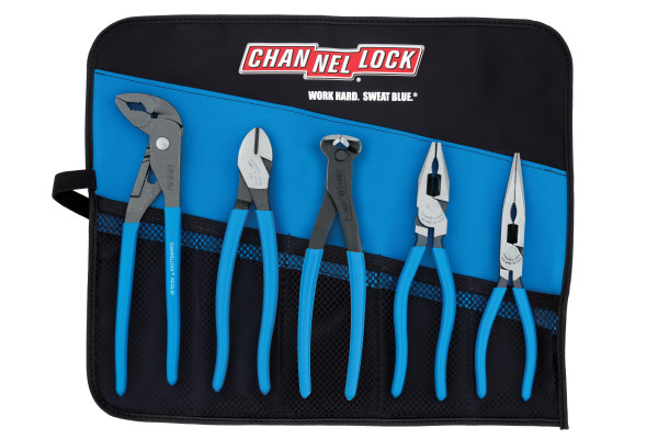 TOOL ROLL-5E 5pc E SERIES™ Pliers Set with Toll Roll