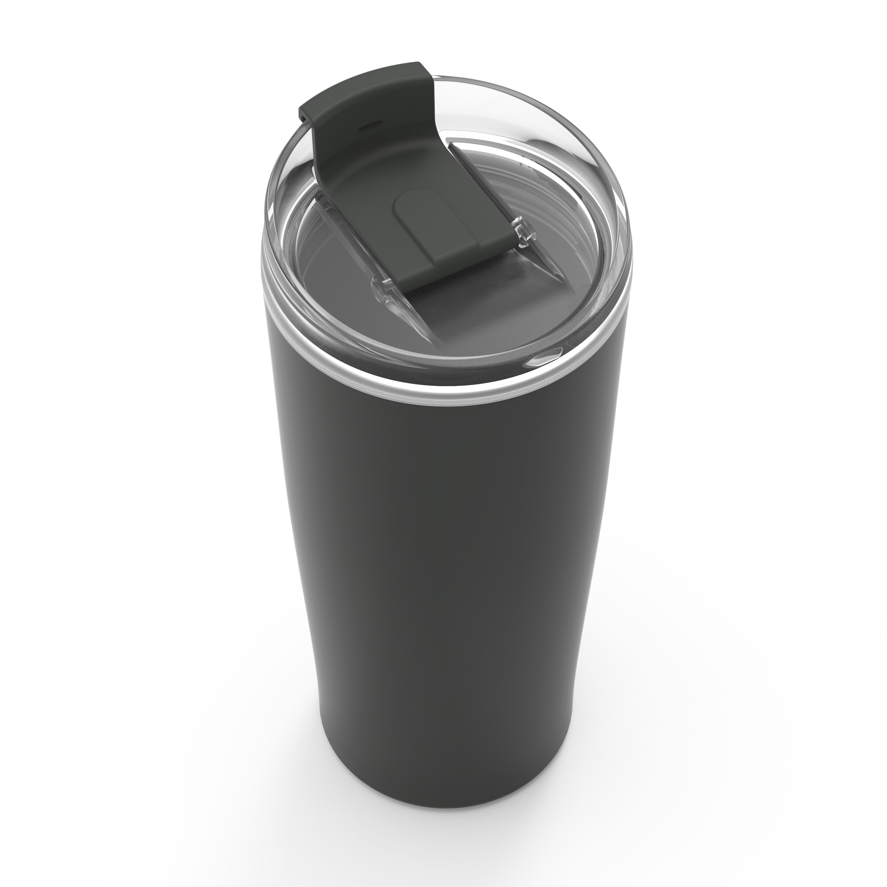 Aberdeen 20 ounce Vacuum Insulated Stainless Steel Tumbler, Charcoal slideshow image 3