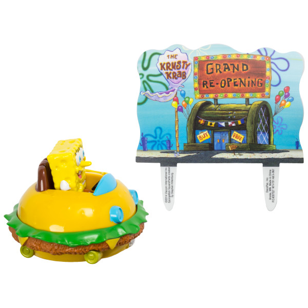 SpongeBob SquarePants™ Krabby Patty DecoSet®