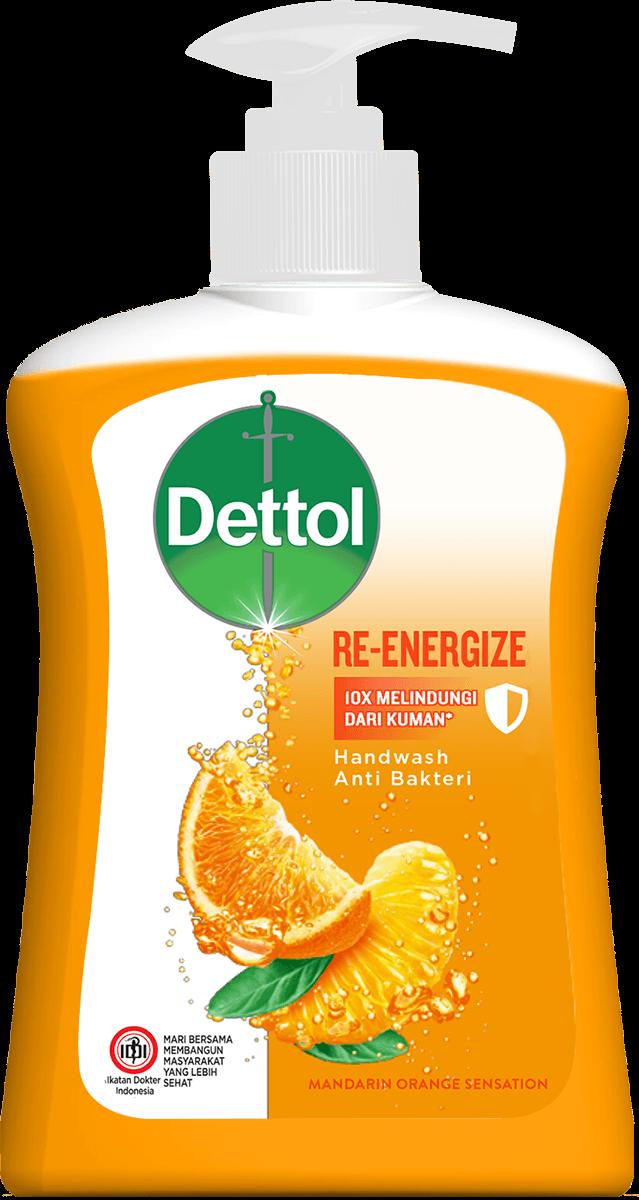 Sabun Cuci Tangan Anti Bakteri Dettol Re-Energize