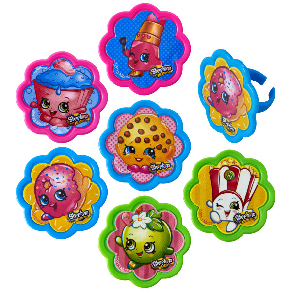 Shopkins™ I Love Shopkins™ Cupcake Rings