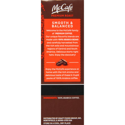 McCafe Premium Roast Coffee K-Cup Pods, 3 count
