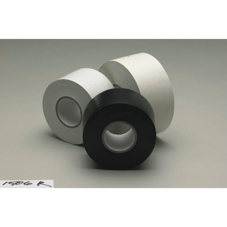 3M™ Selfwound PVC Tape 1506R, Black, 1 1/2 in x 36 yd, 6 mil, 24 rolls per case