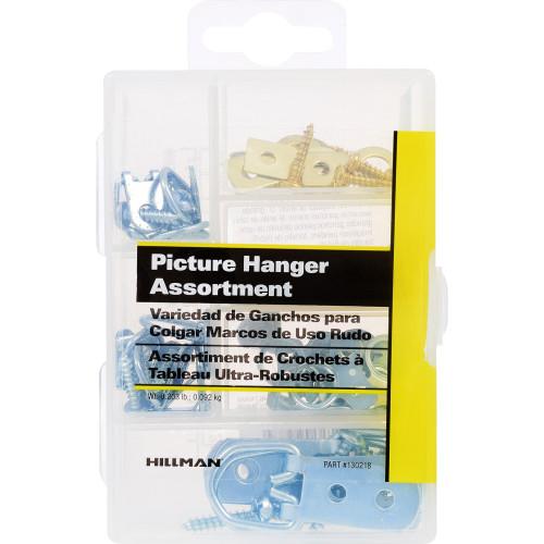 Hillman Small Picture Hanger Assortment