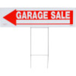 Hillman Arrow Garage Sale Sign