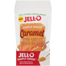 Jell-O Simply Good Caramel Pudding 3.4 oz Pouch