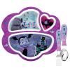Disney Jr. Kid's Dinnerware Set, Vampirina, 3-piece set slideshow image 1