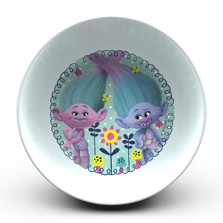 Trolls Movie Dinnerware Set, Poppy & Friends, 5-piece set