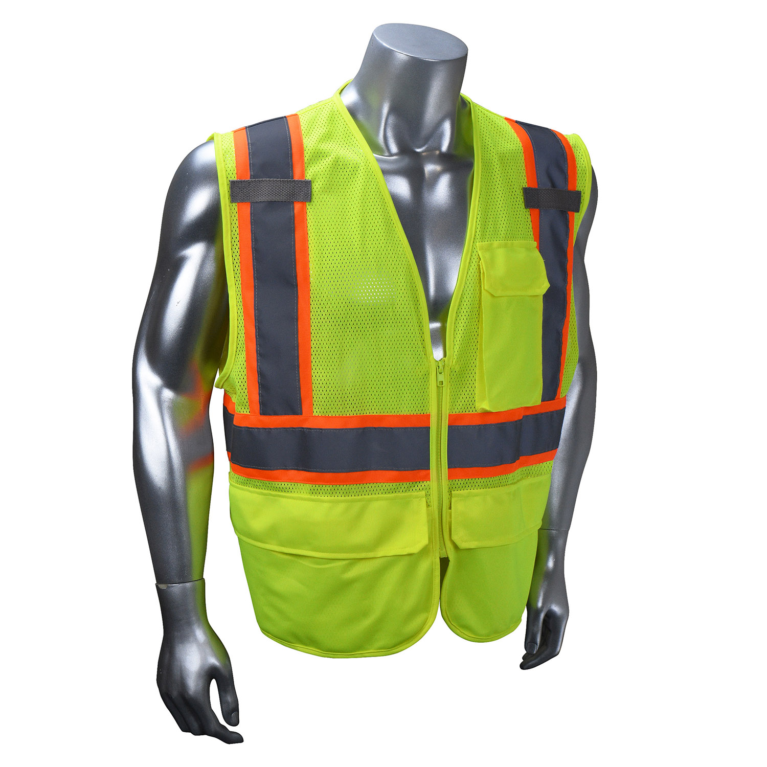 Radians SV225 Class 2 Self Extinguishing Two-Tone Trim Safety Vest