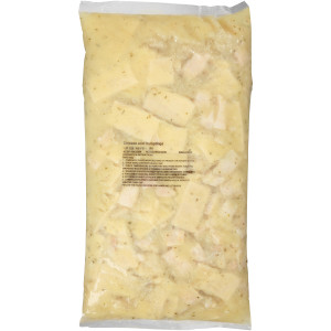 QUALITY CHEF Chicken & Dumplings, 8 lb. Frozen Bag (Pack of 4) image