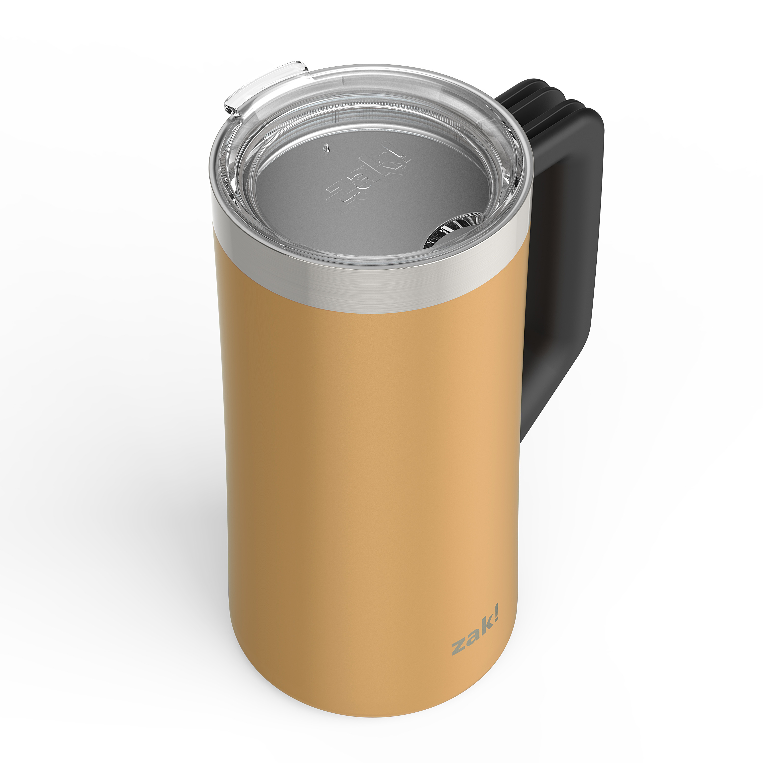 Creston 25 ounce Stainless Steel Vacuum Insulated Beer Stein, Copper slideshow image 2