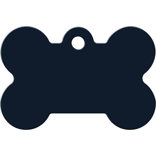 Navy Large Bone Quick-Tag 5 Pack