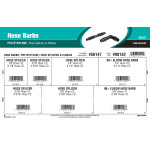 Polyethylene Hose Barbs Assortment (Hose Splicers & Elbows)