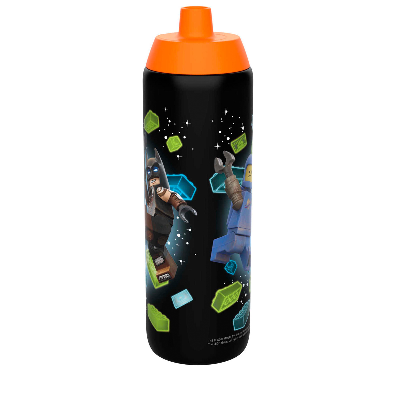 LEGO Movie 2 25 ounce Water Bottle, Batman, Wyldstyle & Emmet, 2-piece set slideshow image 5