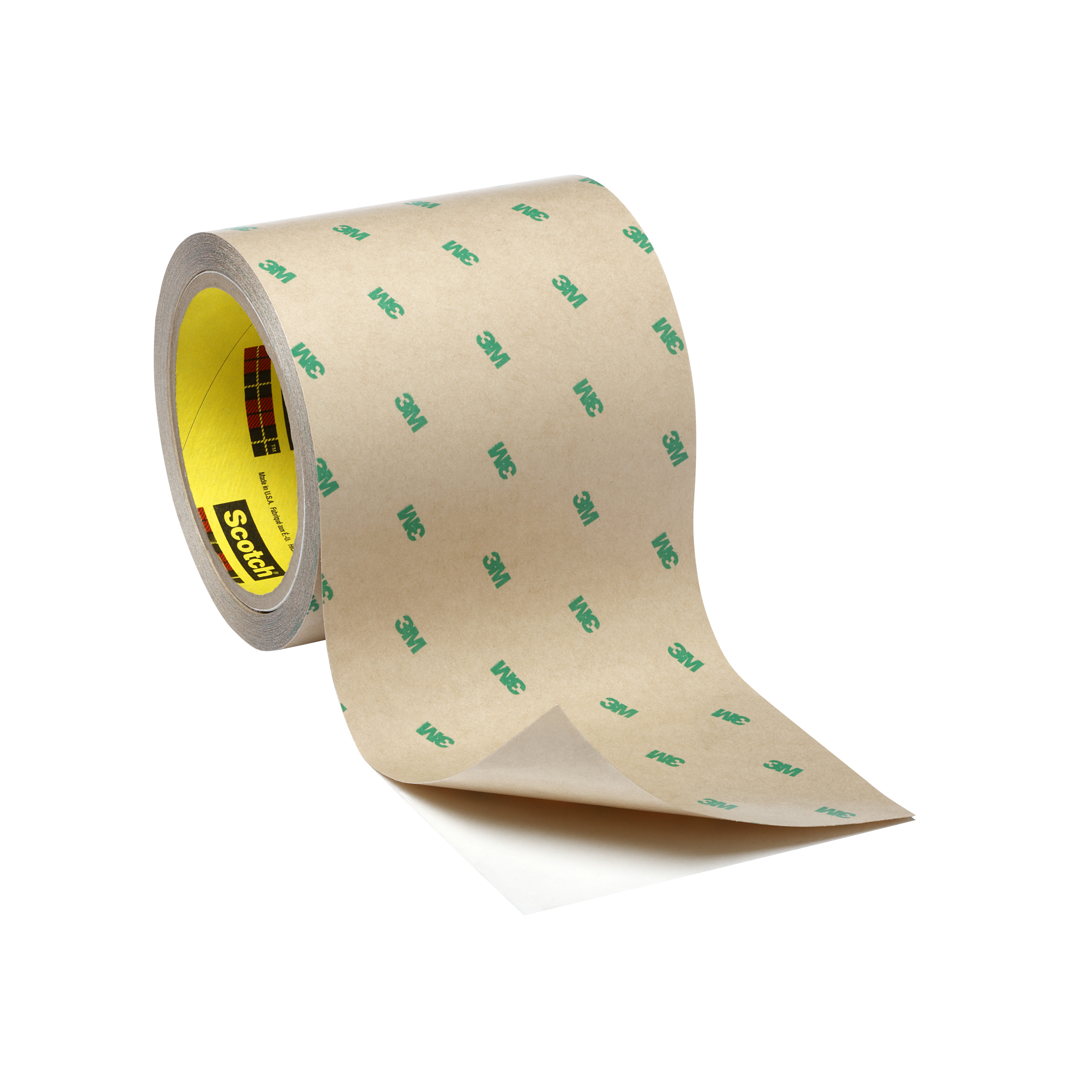 3M™ Double Coated Tape 9690, Clear, 1 in x 60 yd, 5.5 mil, 9 rolls per case