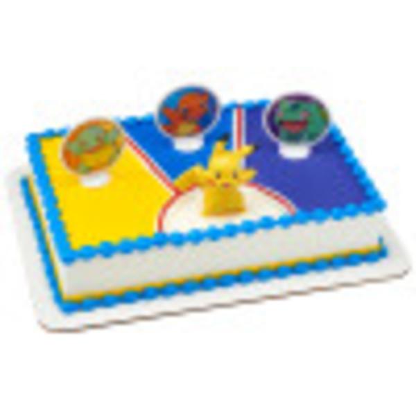 Pokemon Light Up Pikachu Cake Kit Cake