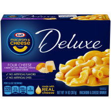 Kraft Deluxe Four Cheese Macaroni & Cheese Dinner 14 oz Box