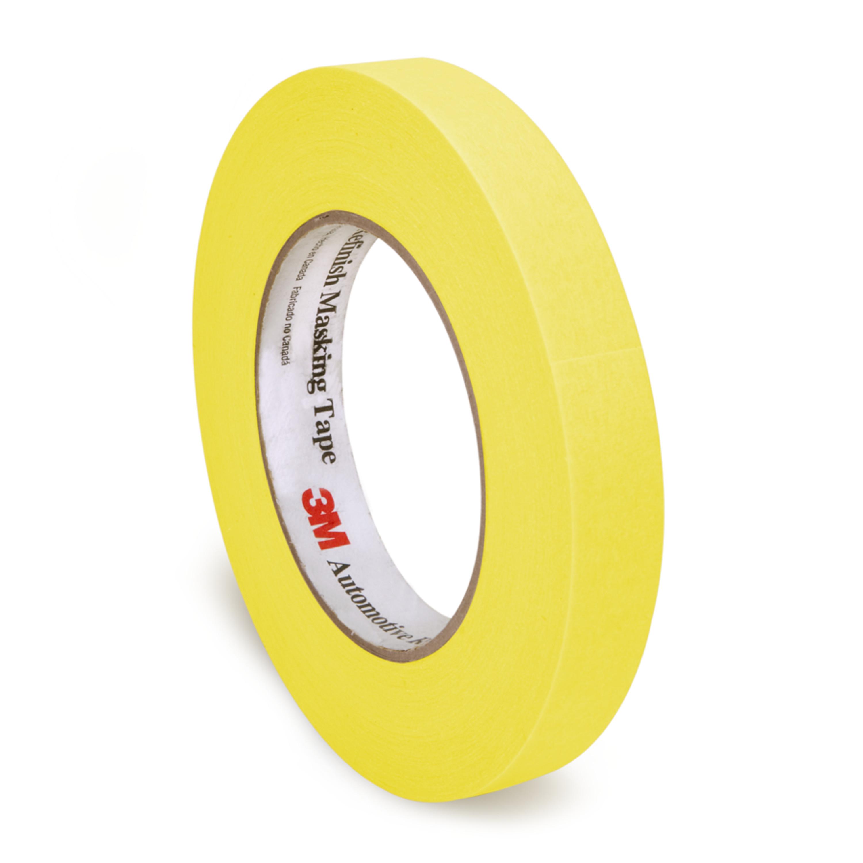 3M™ Automotive Refinish Masking Tape, 06653, 24 mm x 55 m, 36 per case