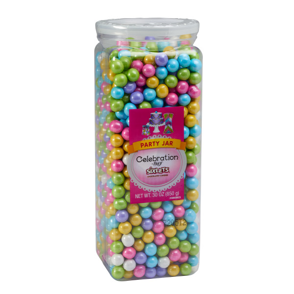 Shimmer Spring Mix Sixlets® Sugar Candy Decorations