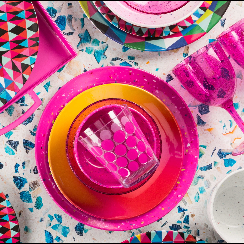 Confetti 35 ounce Pasta Bowl, Eggshell White, 6-piece set slideshow image 13