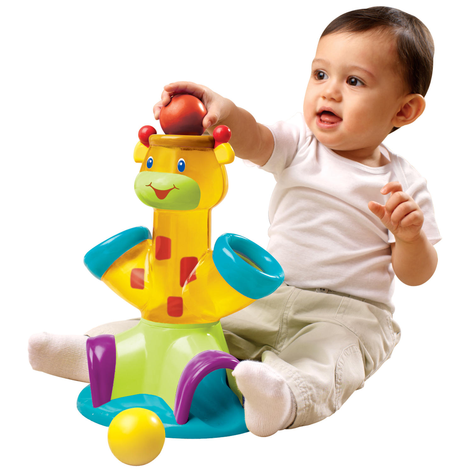 Drop & Giggle™ Toy