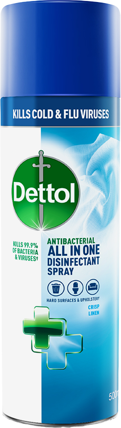 Dettol All in One Disinfectant Spray Crisp Linen