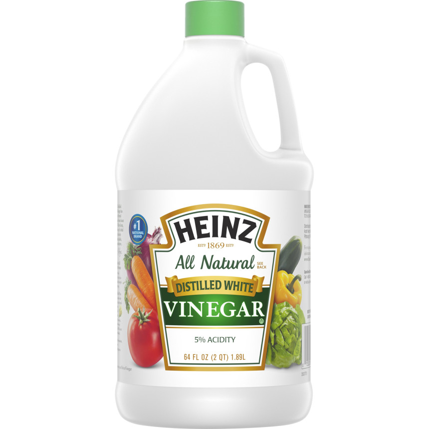 Heinz Distilled White Vinegar, 64 fl oz Jug image