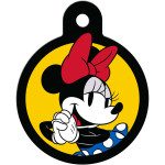 Minnie Mouse Yellow Circle Quick-Tag
