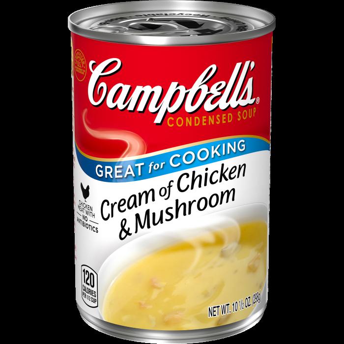 Cream of Chicken & MushroomSoup