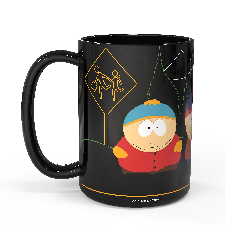South Park 15 ounce Coffee Mug, Cartman, Kenny & Kyle slideshow image 2