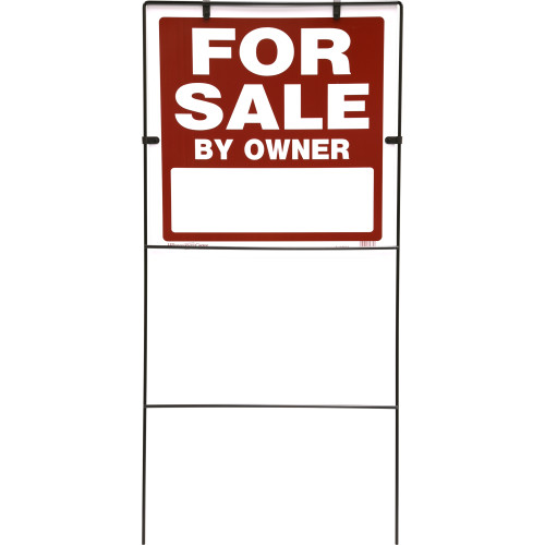 For Sale by Owner Sign with Frame (18