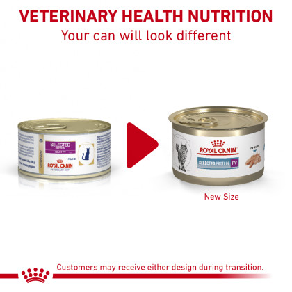 Royal Canin Veterinary Diet Feline Selected Protein PV Loaf in Sauce Canned Cat Food