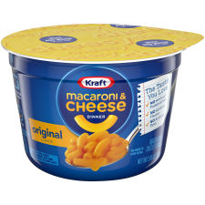 Kraft Easy Mac Original Flavor Macaroni & Cheese Dinner Microwavable 2.05 oz Tubs