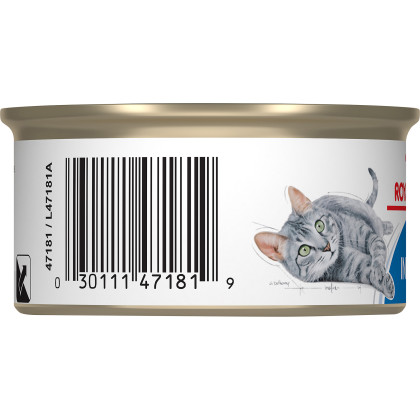 Royal Canin Feline Health Nutrition Indoor 7+ Morsels in Gravy Canned Cat Food