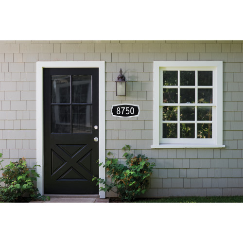 Distinctions Decorative Address Plaque (9
