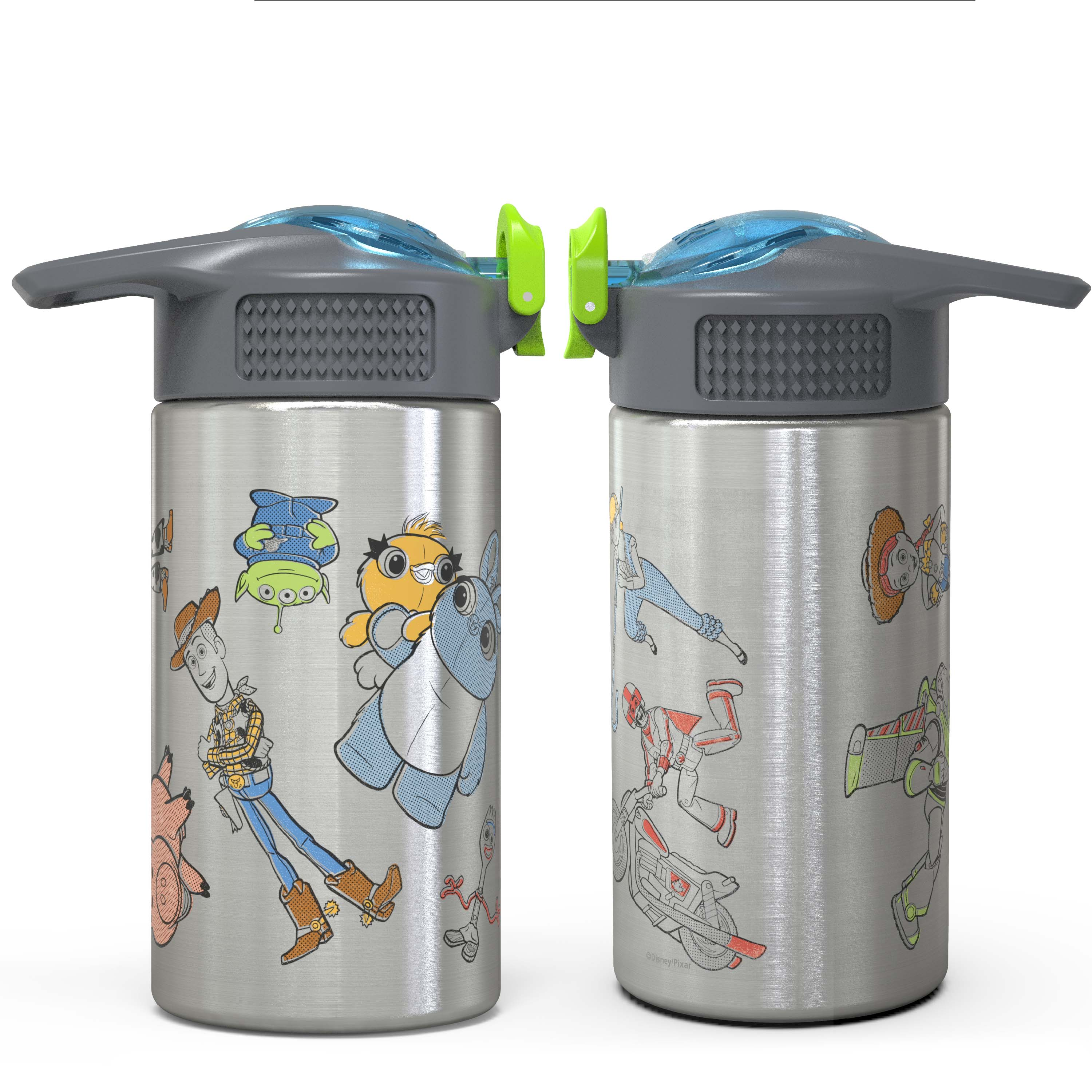 Toy Story 4 Movie 15.5 ounce Water Bottle, Buzz, Woody & Friends slideshow image 4