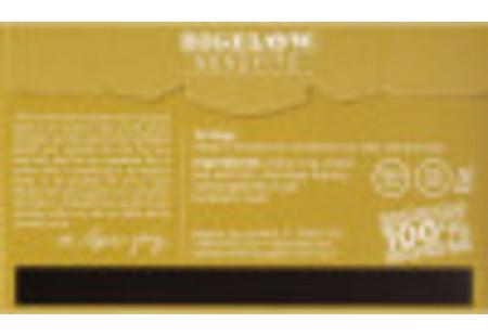 Back of Bigelow Benefits Moringa and Black Tea box
