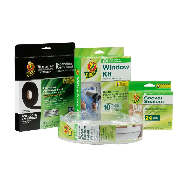 Duck Brand Winter Home Insulation Kit