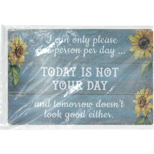 I Can Only Please One Person a Day Novelty Sign (12