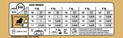 Cavalier King Charles Adult feeding guide