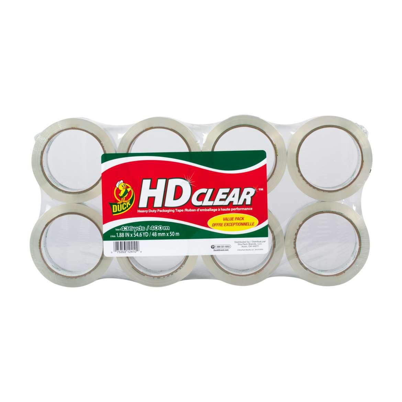 Duck® Brand HD Clear™ Heavy Duty Packing Tape