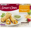 Weight Watchers Smart Ones Delicious Mexican Flavors Chicken Ranchero Mini Wraps 8 oz Box