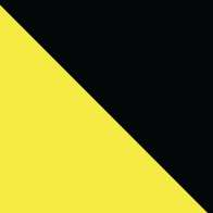 Swatch for Printed Duck Tape® Brand Duct Tape - Black & Yellow Stripes, 1.88 in. x 15 yd.